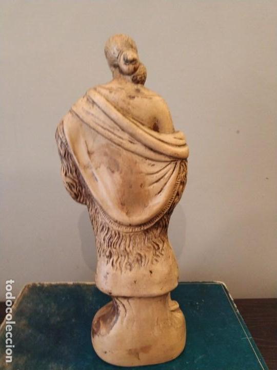 Antigüedades: FIGURA GITANA - POSIBLE ANTONIO GARRIGOS - EN TERRACOTA - SELLO VILA ALBACETE - MUSEO COLECCIONISTA - Foto 5 - 158821458