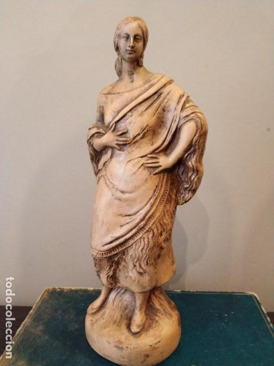 Antigüedades: FIGURA GITANA - POSIBLE ANTONIO GARRIGOS - EN TERRACOTA - SELLO VILA ALBACETE - MUSEO COLECCIONISTA - Foto 9 - 158821458
