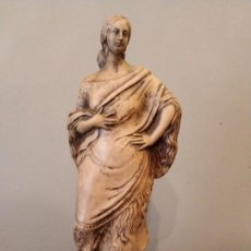 Antigüedades: FIGURA GITANA - POSIBLE ANTONIO GARRIGOS - EN TERRACOTA - SELLO VILA ALBACETE - MUSEO COLECCIONISTA. Lote 158821458
