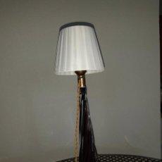 Antigüedades: LAMPARA 39CM CRISTAL DE MURANO. Lote 158860930