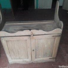 Antigüedades: ANTIGUA ALACENA CON MAS DE 150 AÑOS. MADERA BLANCA. Lote 158922842