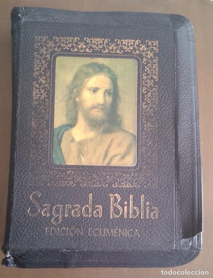 SAGRADA BIBLIA EDICIÓN ECUMÉNICA. 1973 (Antigüedades - Religiosas - Varios)