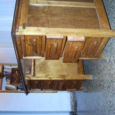 Antigüedades: MESA DESPACHO DE ROBLE AÑOS 50. Lote 196068975