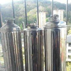 Antigüedades: LOTE DE 3 BOTELLAS DE AGUA CALIENTE PARA LA CAMA. Lote 158977918