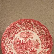 Antigüedades: PLATO PICKMAN SERIE ROSA. EN PERFECTO ESTADO. S. XIX. Lote 158993066