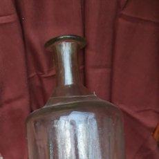 Antigüedades: BOTELLON DE BOTICA DE FINALES DEL SIGLO XIX.. Lote 159020230