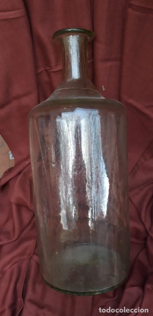 Antigüedades: Botellon de botica de finales del siglo xix. - Foto 2 - 159020230