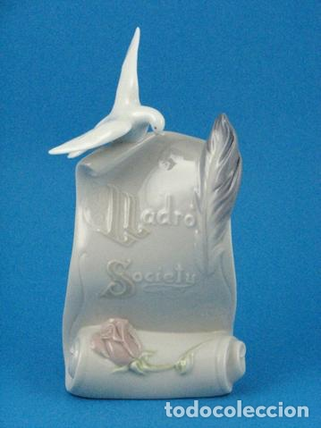 """REF: LLADROSIGN """"PLACA SOCIEDAD DE COLECCIONISTAS LLADRÓ"""" (Antigüedades - Porcelanas y Cerámicas - Lladró)"""