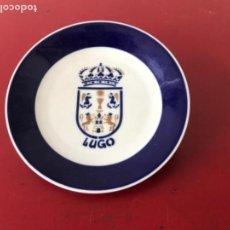 Antigüedades: PLATO SARGADELOS ESCUDO DE LUGO, GALICIA. . Lote 159033450