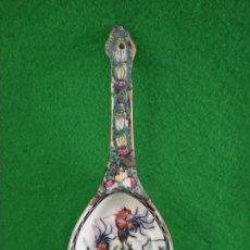 Antigüedades: CUCHARA DE PORCELANA CHINA DE MACAO MACAU. Lote 159035746