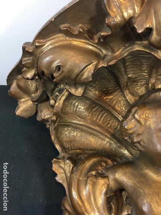 Antigüedades: Ménsula dorada - Foto 4 - 159037578