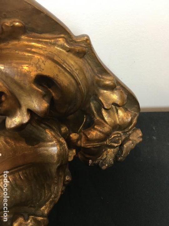 Antigüedades: Ménsula dorada - Foto 5 - 159037578