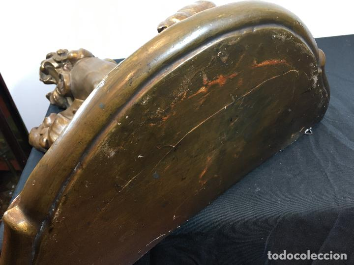 Antigüedades: Ménsula dorada - Foto 6 - 159037578