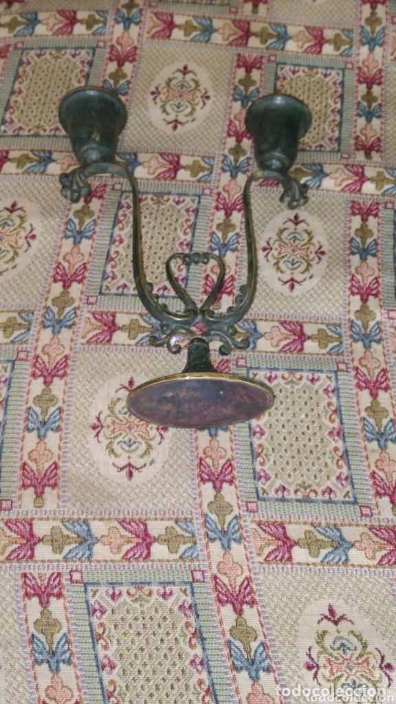Antiquitäten: antiguo portavelas - Foto 4 - 159051398