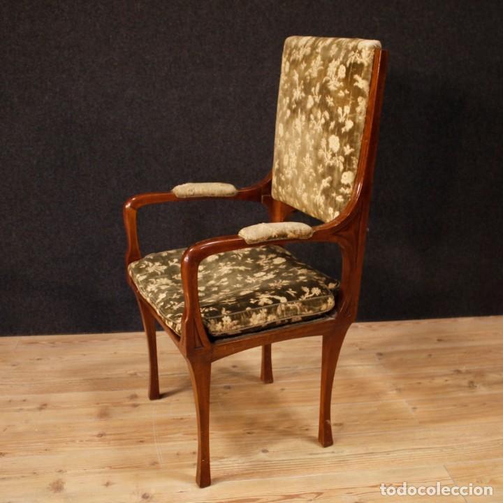 Antigüedades: Pareja de sillones franceses Art Nouveau - Foto 3 - 159065966