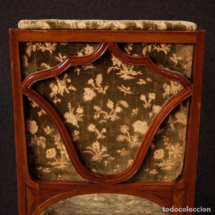 Antigüedades: Pareja de sillones franceses Art Nouveau - Foto 7 - 159065966