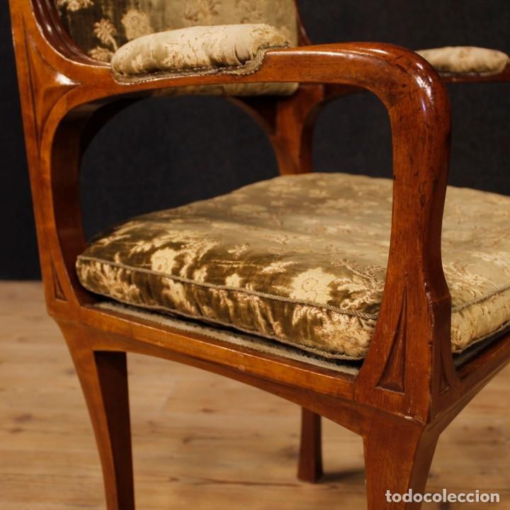 Antigüedades: Pareja de sillones franceses Art Nouveau - Foto 9 - 159065966