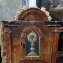Antigüedades: MAGNIFICO SAGRARIO BARROCO S. XVIII. Lote 159133722