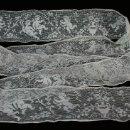 Antigüedades: REF283 ENCAJE DE ÁNGELES AÑOS 1900, ENTRAMADO DE MALLA EN FINO HILO, 2 METROS. Lote 159196082
