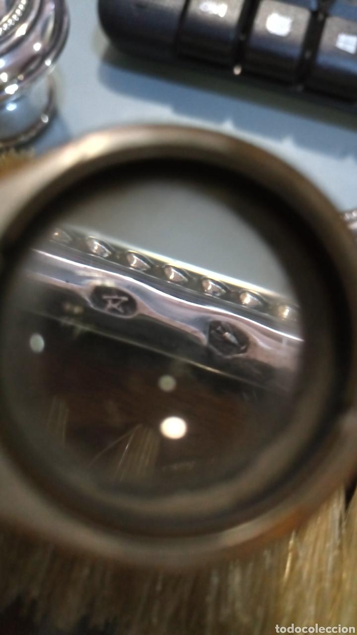 Antigüedades: Juego tocador plata de Ley - Foto 11 - 159197485