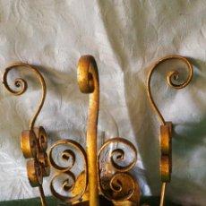 Antigüedades: APLIQUE DE PARED. Lote 159198950