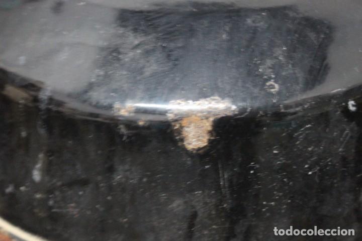 Antigüedades: enorme lampara industrial Egsa de 40 cm de diametro. años 30 - Foto 11 - 159203114