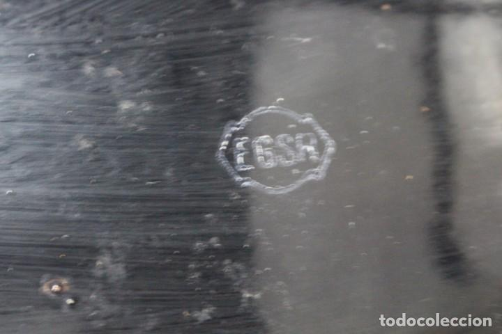 Antigüedades: enorme lampara industrial Egsa de 40 cm de diametro. años 30 - Foto 13 - 159203114