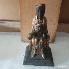 Antigüedades: LA VIRGEN MONTSERRAT. Lote 159209342