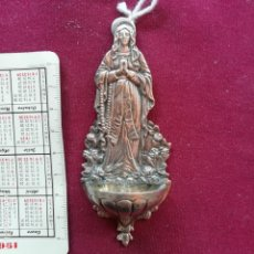 Antigüedades: BENDITERA ANTIGUA DE PLATA. Lote 159228842
