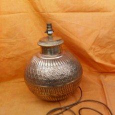 Antigüedades: PIE DE LAMPARA. Lote 159248008