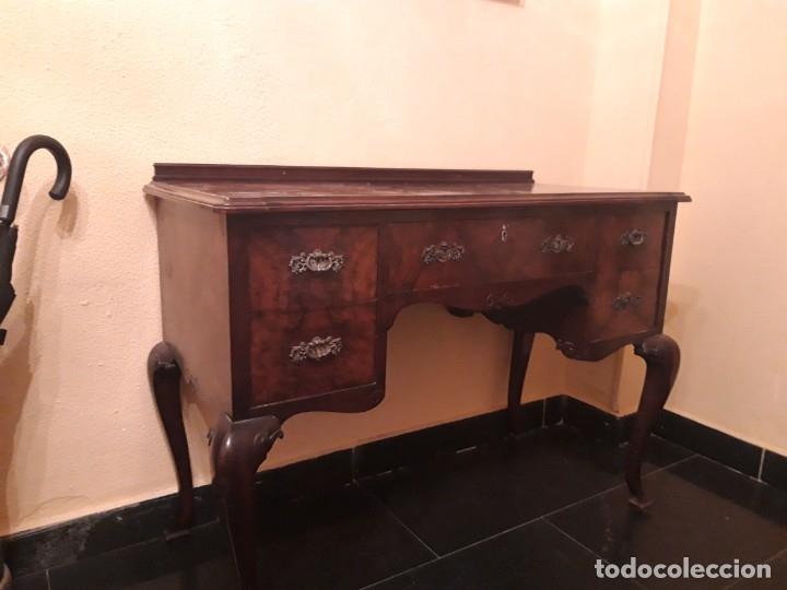 MESA DE DESPACHO O DE TOCADOR (Antigüedades - Muebles Antiguos - Mesas de Despacho Antiguos)