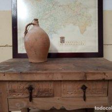 Antigüedades: CÁNTARO MEDIANO O BOTIJA. CERÁMICA POPULAR EXTINGUIDA DE GUADALAJARA. ZONA DE COGOLLUDO.. Lote 159301886