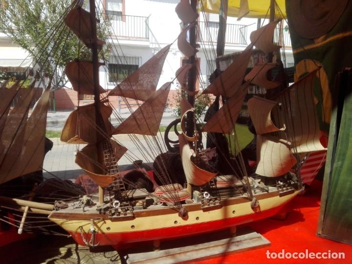 Antigüedades: Barco madera CLIPPER XIX - Foto 5 - 159179822
