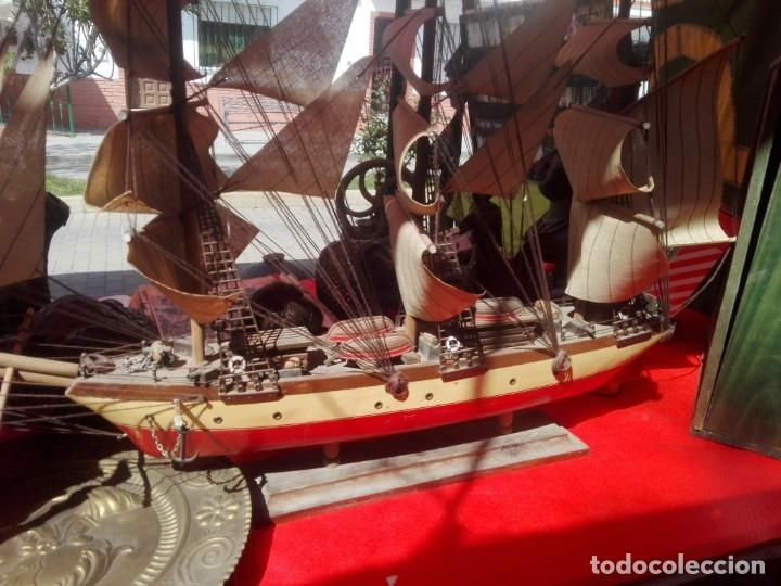 Antigüedades: Barco madera CLIPPER XIX - Foto 6 - 159179822
