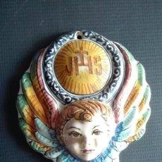 Antigüedades: BENDITERA CERAMICA. Lote 159346170