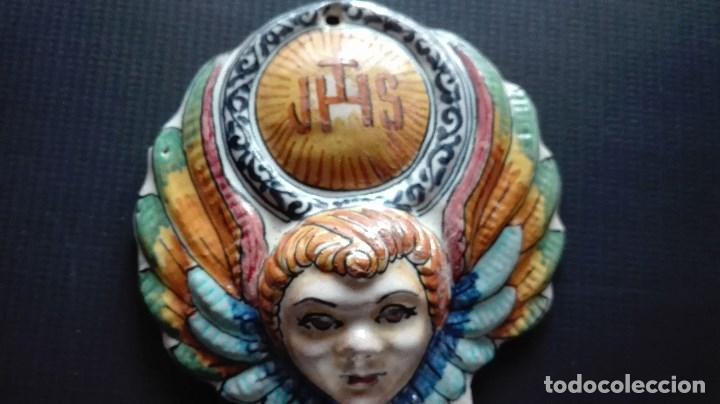 Antigüedades: BENDITERA CERAMICA - Foto 5 - 159346170