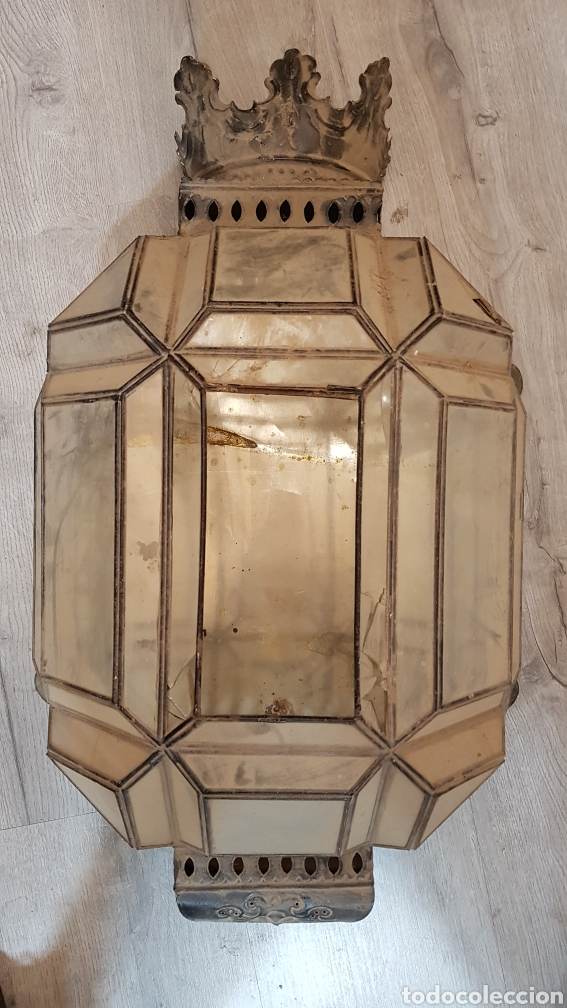 APLIQUE GRANADINO S.XIX (Antigüedades - Iluminación - Apliques Antiguos)
