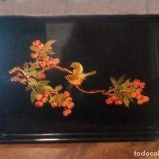 Antigüedades: BANDEJA JAPONESA LACA. Lote 184408585