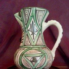 Antigüedades: JARRA DE CERÁMICA DOMINGO PUNTER. TERUEL.. Lote 159378006