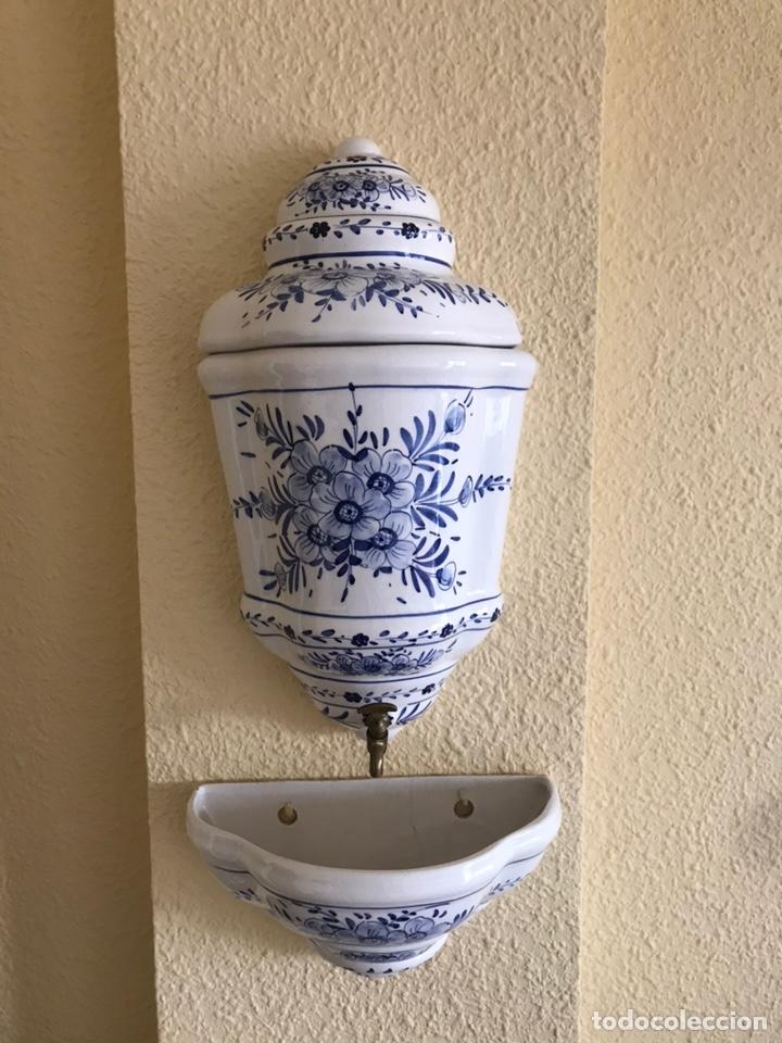 Antigüedades: Aguamanil antiguo siglo XIX - Foto 3 - 159401596