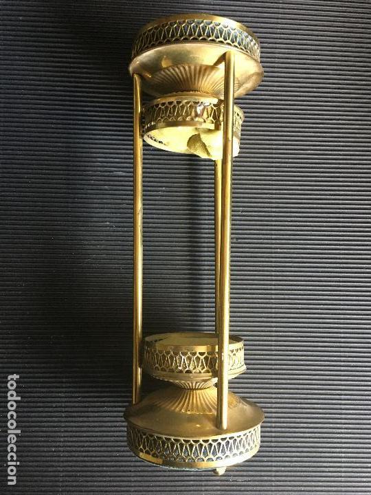 ANTIGUO SOPORTE MODERNISTA PARA RELOJ DE ARENA (Antigüedades - Varios)