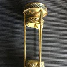 Antigüedades: ANTIGUO SOPORTE MODERNISTA PARA RELOJ DE ARENA. Lote 159403262