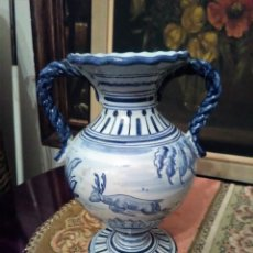 Antigüedades: ÁNFORA DE CERÁMICA TALAVERA.. Lote 159424042