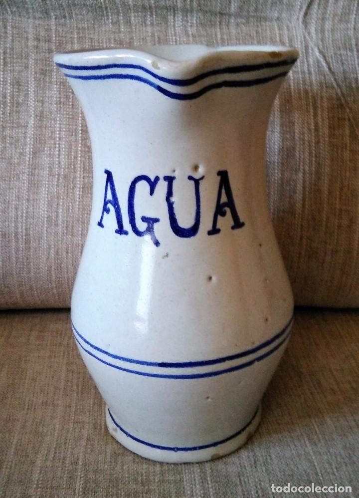 ANTIGUA JARRA DE CERAMICA (Antigüedades - Porcelanas y Cerámicas - Manises)