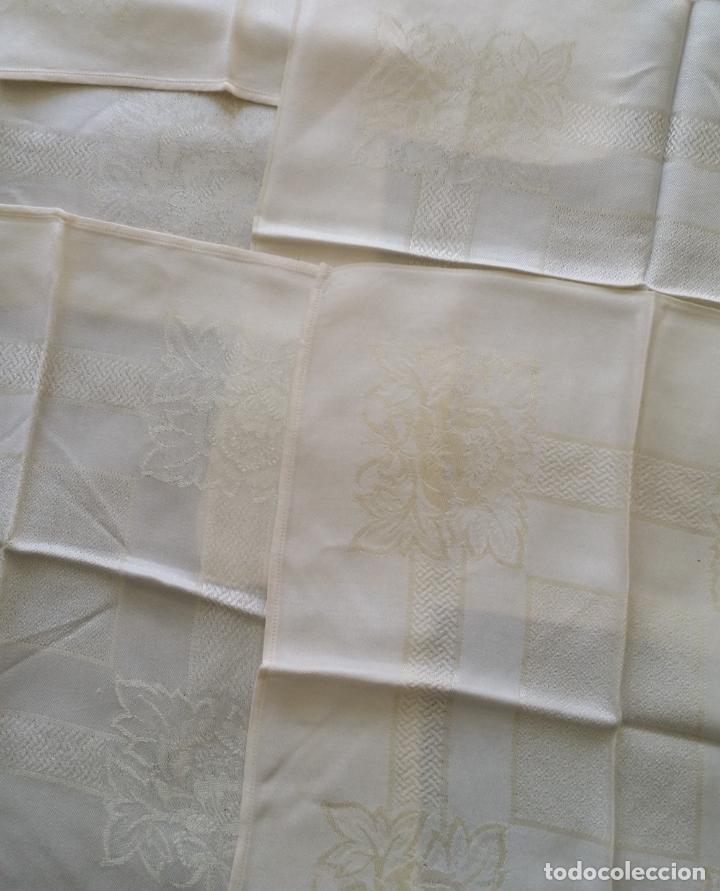 Antigüedades: Cinco (5) servilletas antiguas - Foto 3 - 159477346