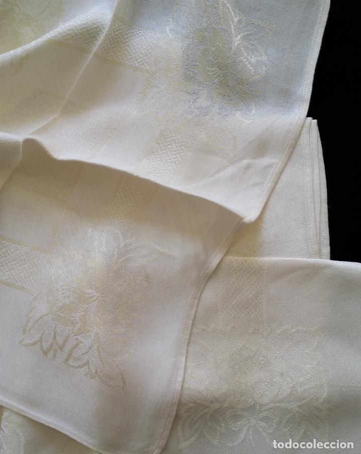 Antigüedades: Cinco (5) servilletas antiguas - Foto 4 - 159477346