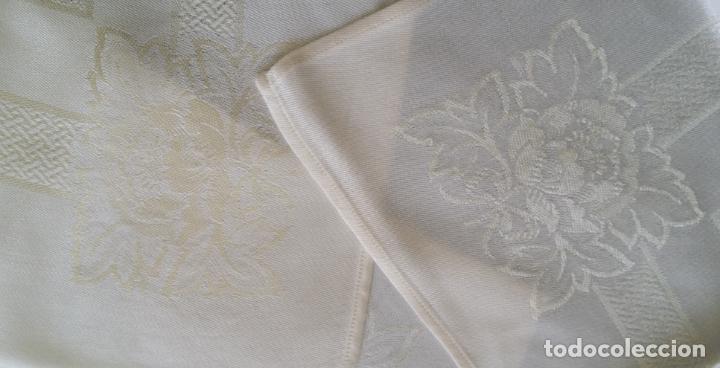 Antigüedades: Cinco (5) servilletas antiguas - Foto 5 - 159477346