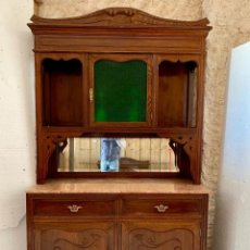 Antigüedades: APARADOR TRINCHERO DE ROBLE. Lote 159486662