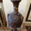 Antigüedades: ANFORA ARABE SIGLO XIX 88 CM. Lote 159493566