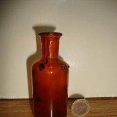 Antigüedades: (TC-162) PEQUEÑA BOTELLA FRASCO FARMACIA . Lote 159501898